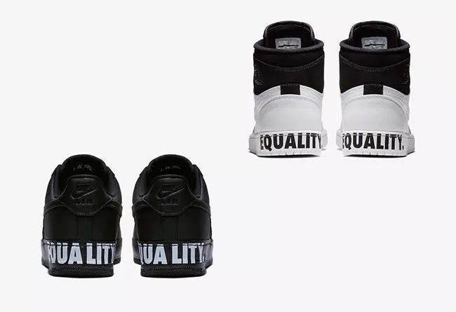 """pretty nice bdd28 6d0b4 酷似熊猫配色!Air Jordan 1 & AF1 """"Equality"""" 即将发售"""