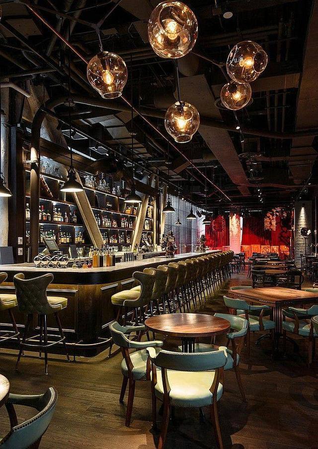 吧_创意空间设计-成就了苏荷酒吧的\