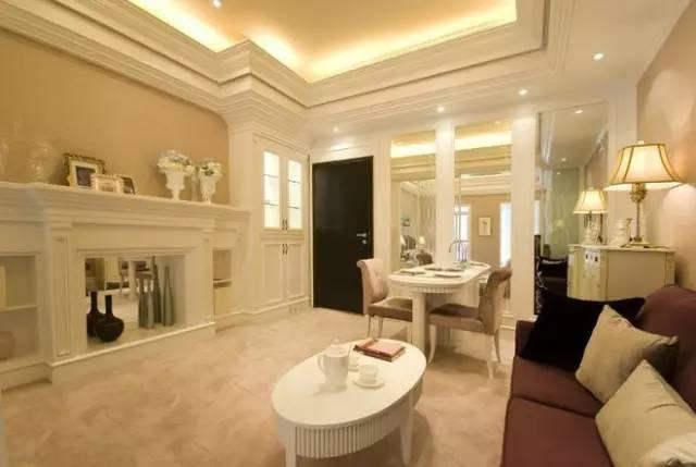 86平米简约欧式,客厅与卧室,仅隔着玻璃屏风,好美好浪费!