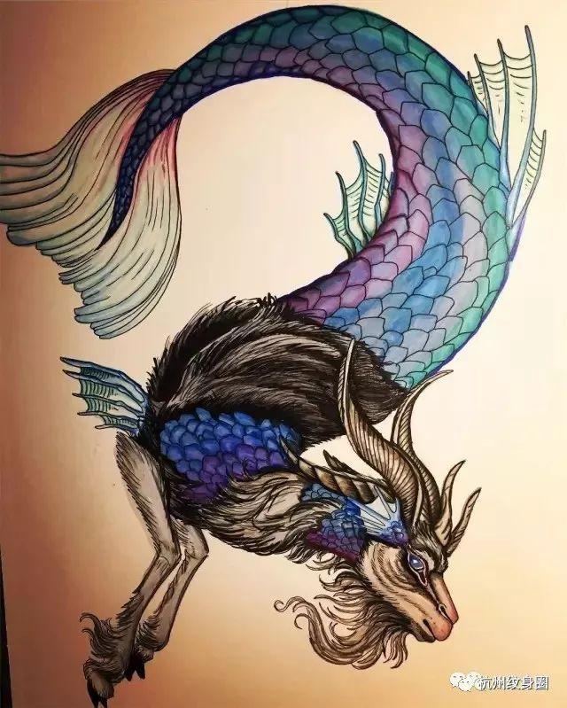 tattoo | 纹身素材: 摩羯座(capricornus)_搜狐星座图片