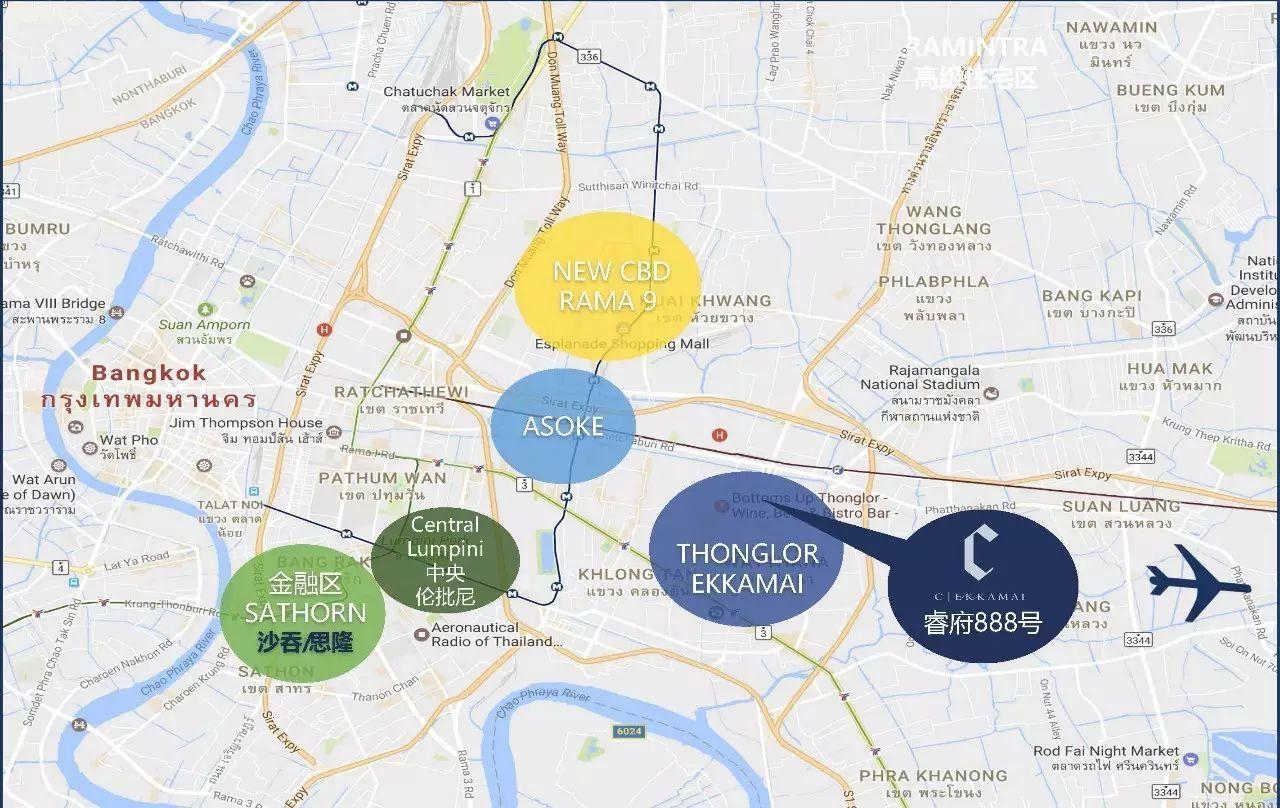 泰国曼谷公寓-高端精品住宅项目