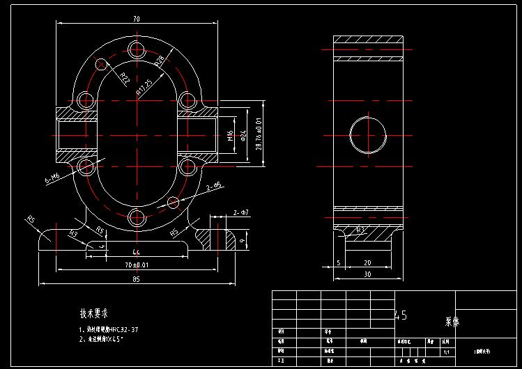 最新出炉的cad机械练习图纸来啦!