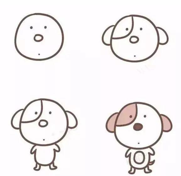 简笔画卡通动漫梅花