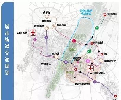 有地铁高速串联还不够,成都拟在双流天府两机场间建磁浮列车