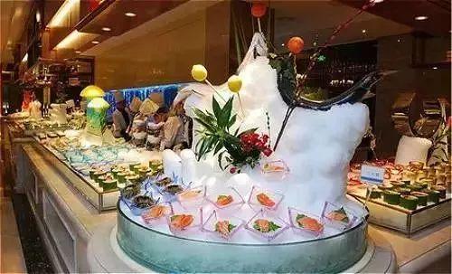 刺身冰雕图片_福州这十家自助餐厅,太吓人了!