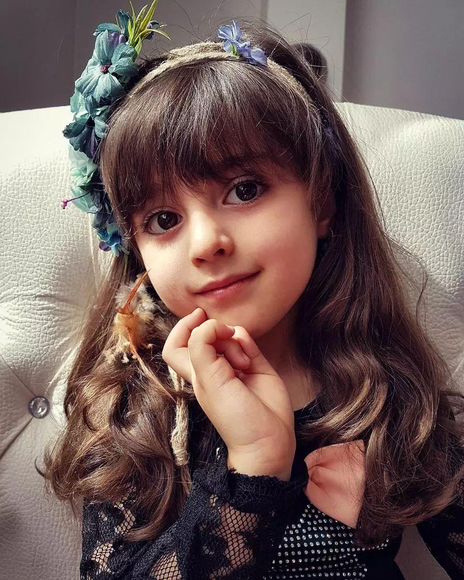 """世界最漂亮的小女孩_有个""""全球最美""""的女儿是种什么体验?又来骗我生女儿系列!"""