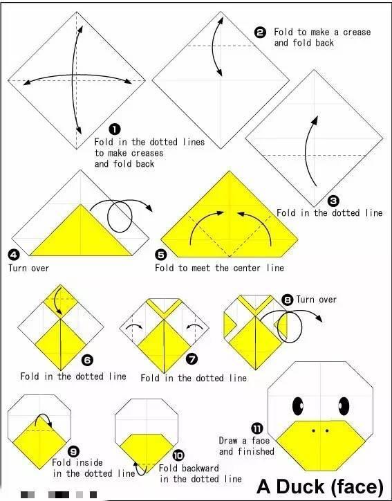 【折纸手工】最新款幼儿折纸手工,让你大吃一惊的100种创意!