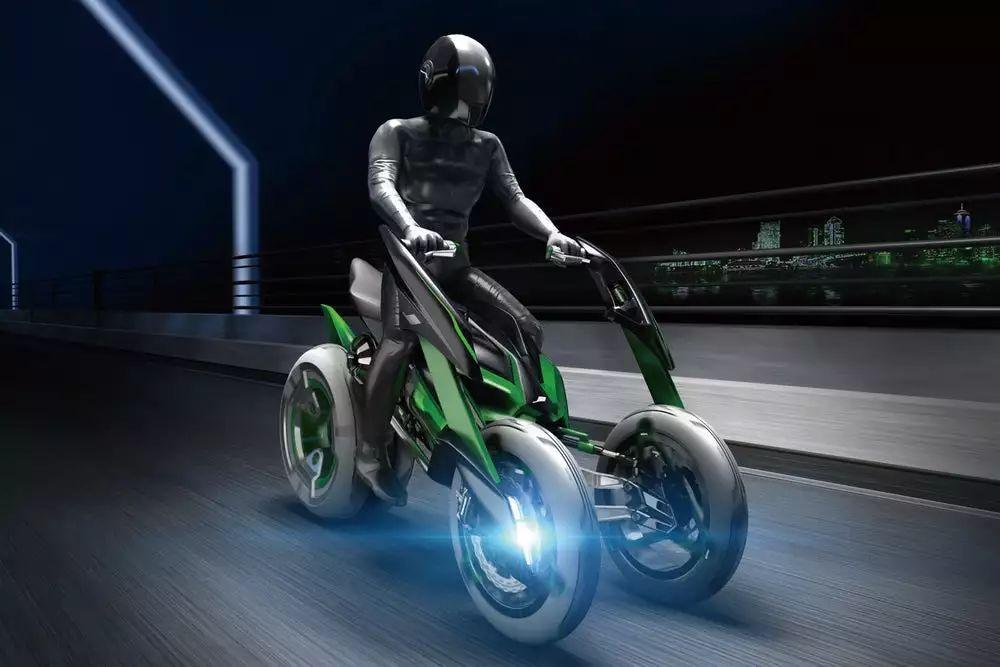 这是川崎最科幻的车,最新预告片多项黑科技曝