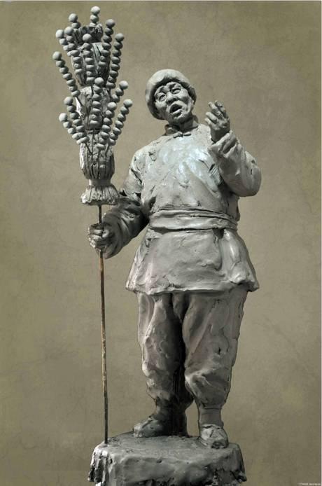 创作著名的雕塑作品有《和平》,《地道战》,《北京世界公园》,《北京