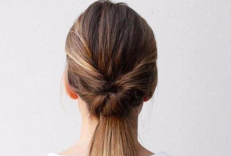 最简单的发型_吉林美发学校 2款最最最简单的发型赶紧学着扎起来