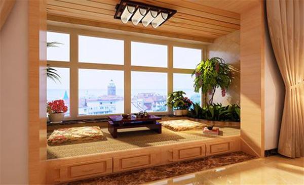 阳台装修效果图02小户型阳台如何装修实用美观?
