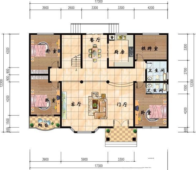 4套农村二层别墅设计效果图,第四套最漂亮,您觉得呢?