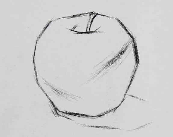 【菁喜素描】不容错过的--苹果画法全解析图片