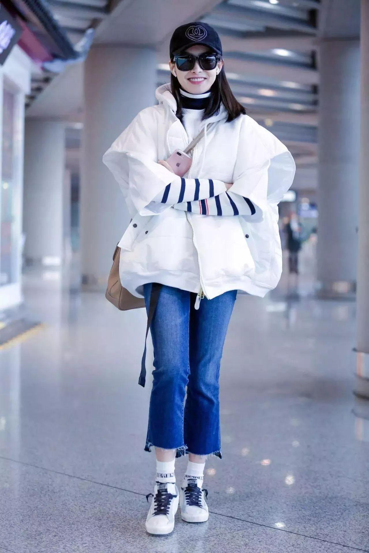 羽绒服+阔腿裤,竟然可以这么时髦保暖!!