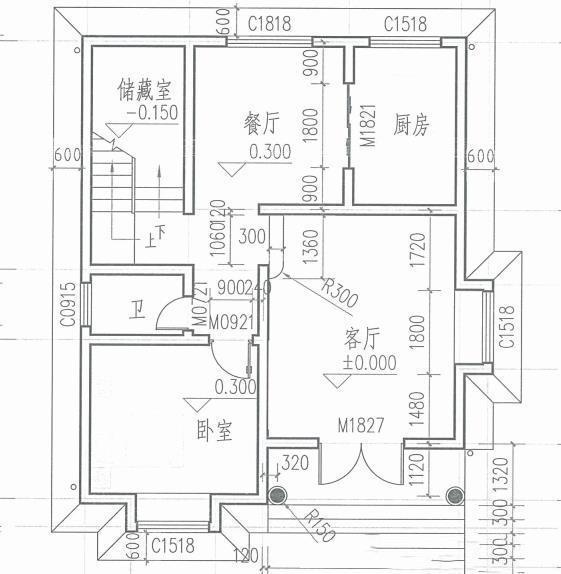 4款农村建房小别墅设计图,造价20万左右的实用小别墅图片