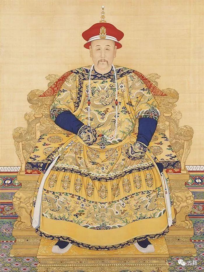 清朝历代皇帝画像图片