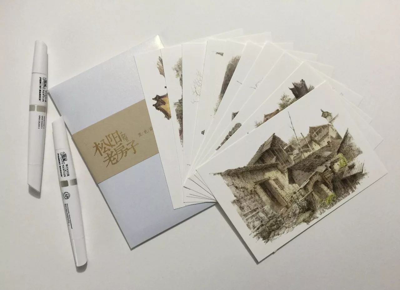抢!【限量版手绘明信片&2018手绘台历】—夏克梁老师2017年力作