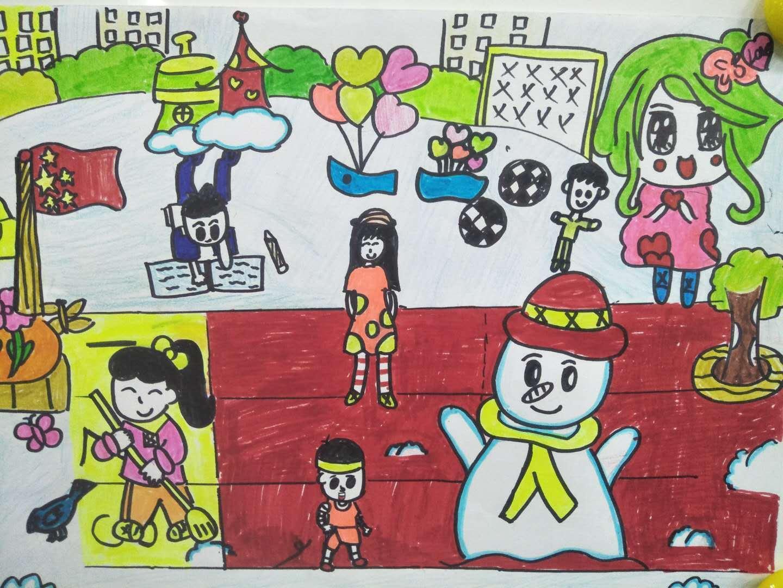 还剩最后两天,快来为建文小学四年级绘画作品打call吧图片
