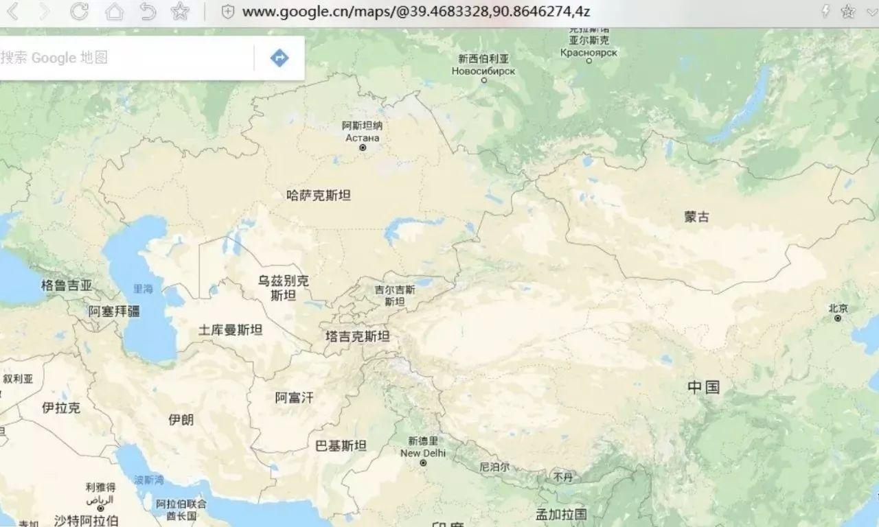 谷歌卫星地图正式回归