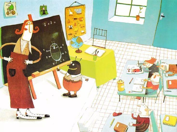《卡夫卡变虫记》——教育家长的绘本-第17张图片-58绘本网-专注儿童绘本批发销售。