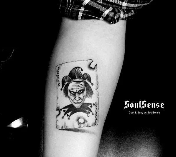 soulsense 纹身 | 小丑纹身,把快乐送给别人,把悲伤