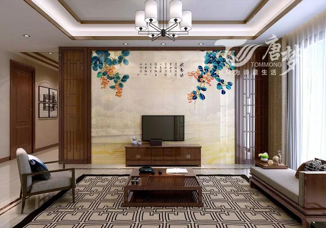 新中式艺术背景墙设计,完美诠释东方文化之美