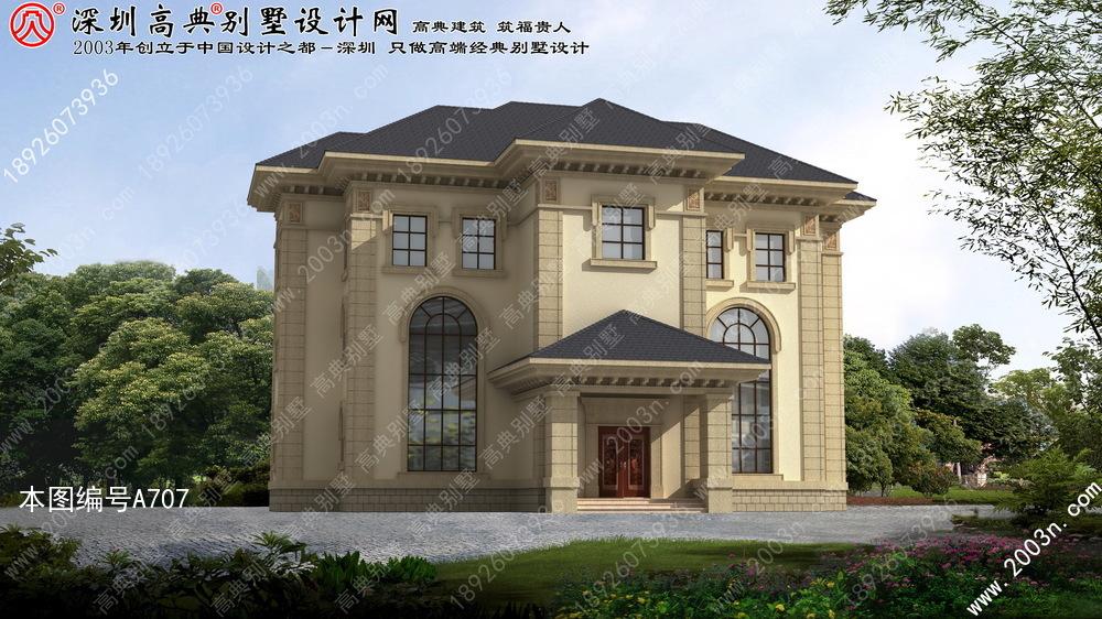 漂亮豪华的别墅设计图纸