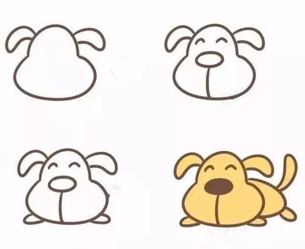 5分钟学会12生肖的简笔画,别说你不心动!(附生肖谜语