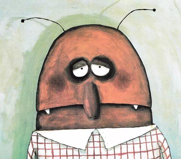 《卡夫卡变虫记》——教育家长的绘本-第23张图片-58绘本网-专注儿童绘本批发销售。