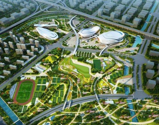 """科技 正文  区域内更有号称""""重磅级城市配套,明星工程""""的宁波奥体中心图片"""