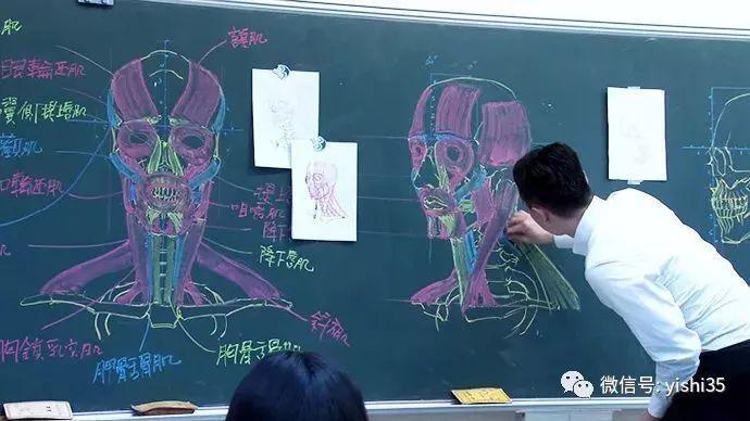 解剖学完全纯手绘,这个老师出名了
