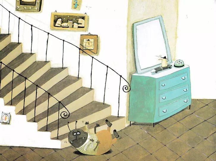 《卡夫卡变虫记》——教育家长的绘本-第6张图片-58绘本网-专注儿童绘本批发销售。