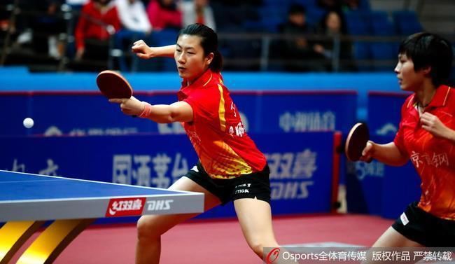 乒超女团丁宁出场率北京取胜 刘诗雯独得两分