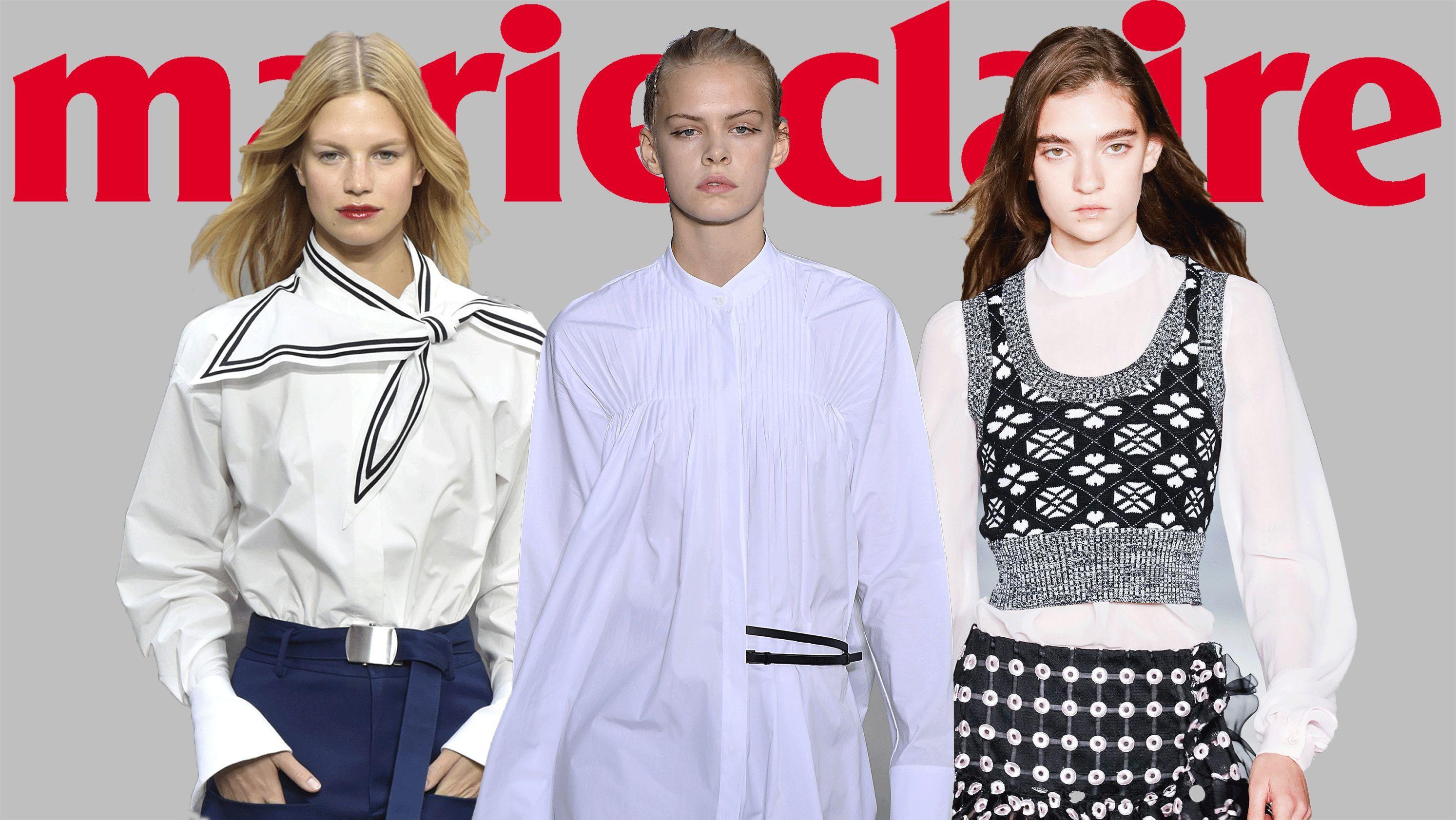 2018年百变造型风向标:白衬衫的穿搭魔法