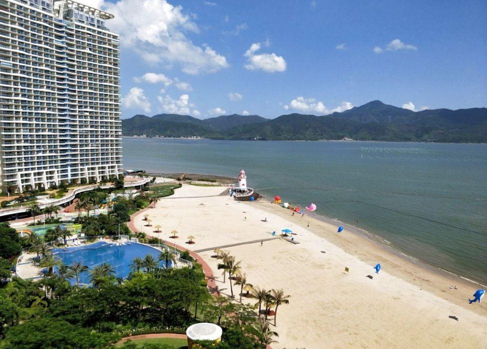 惠州市惠东县稔山镇亚婆角旅游度假融创·海湾半岛