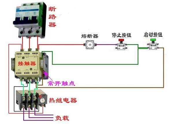 超实用的16个实物电路接线图,需要就拿去不用给俵哥客气图片