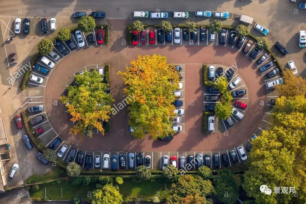 案例丨富有创意的停车位图片
