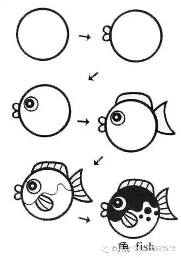 OK宝宝儿童摄影庄河第一品牌店 100副简笔画,赶紧和孩子一起试试吧