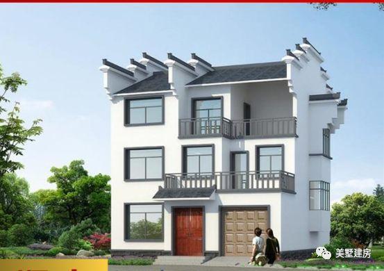 农村自建房,十款超经济三层小别墅,有你喜欢的么?