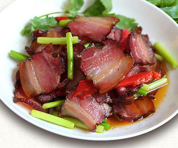 舌尖上的美食——商洛腊肉之商南腊肉和镇安腊肉