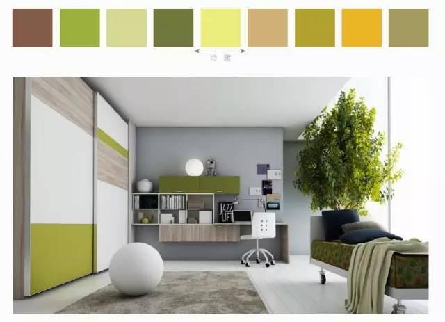 软装设计培训:Y字配色方法
