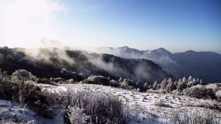 宜昌冬天风景区