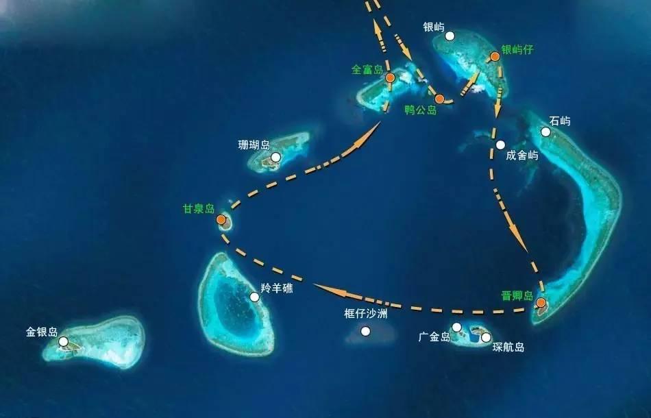 旅游 正文  中国南海四大群岛之一的西沙群岛,由永乐群岛,宣德群岛图片