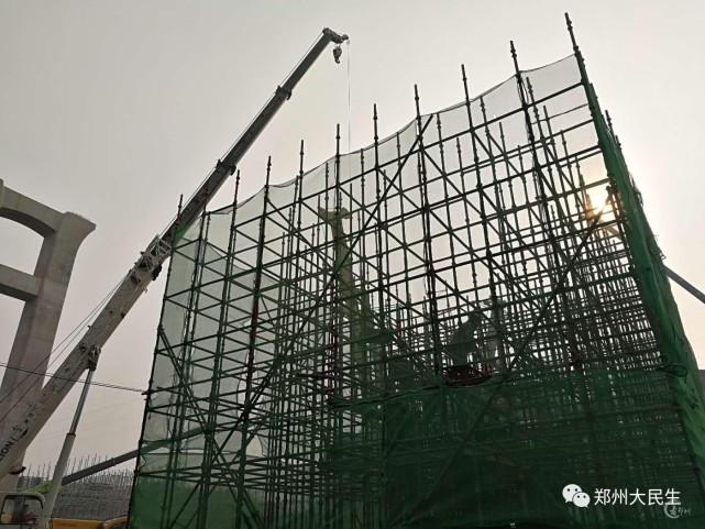 郑北大桥规划图