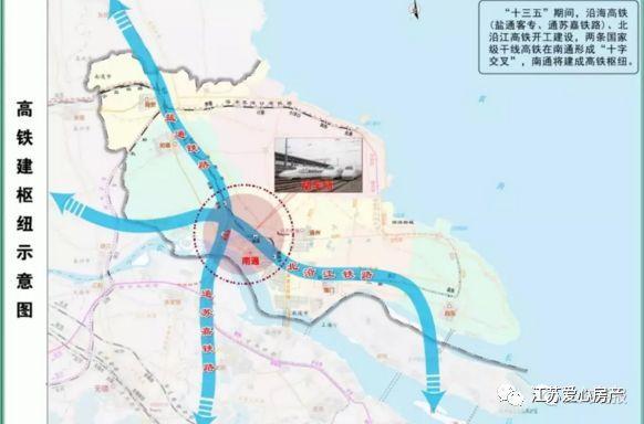 南通第一条高铁开建!