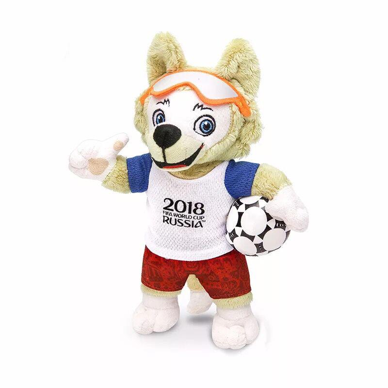 正版俄罗斯世界杯吉祥物想先得为快吗?So easy