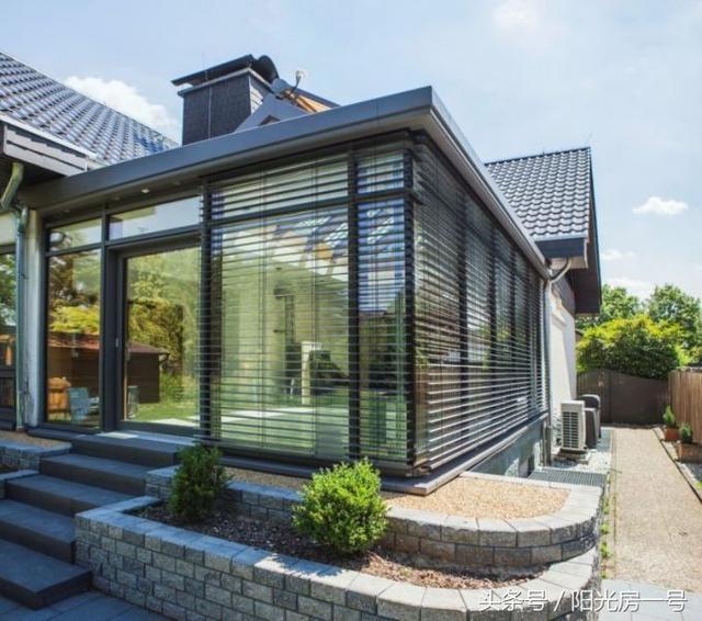 农村小型别墅玻璃