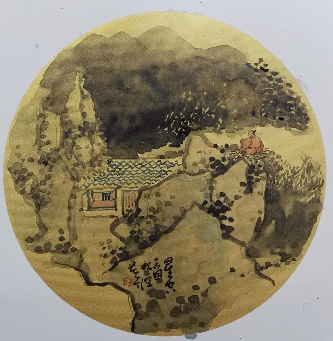 《艺展中国》陈斯壁水墨小品展 ——此中有禅意,时刻见光明图片