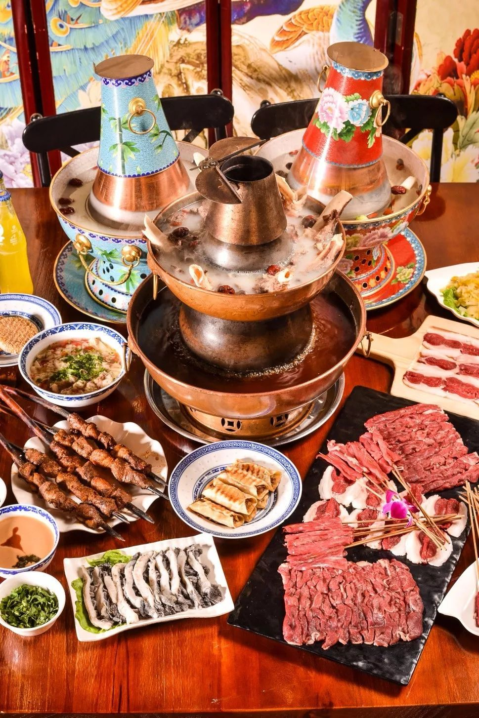 北京好吃的餐厅_老北京五爷涮羊肉京味餐厅