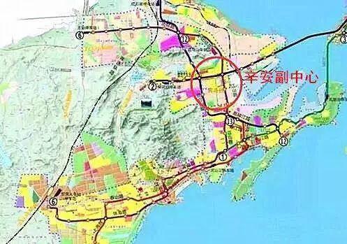 青岛这里腹地崛起!第二条海底隧道 3条地铁,身价